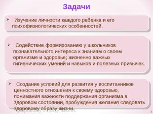 Задачи Изучение личности каждого ребенка и его психофизиологических особенно