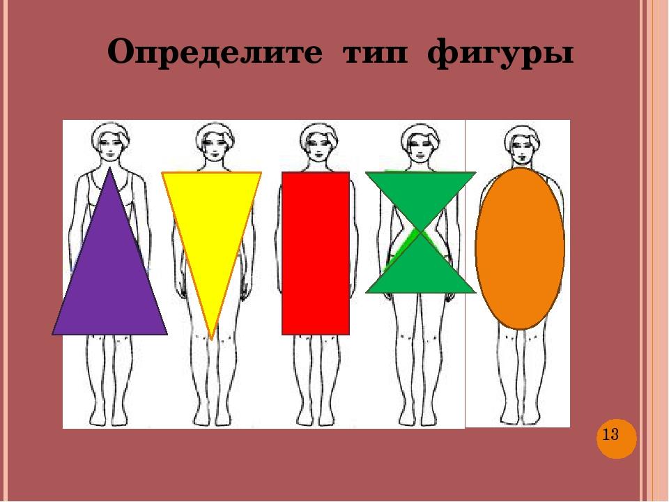 Определите тип фигуры