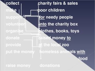 collect charity fairs & sales make poor children support for needy people vol