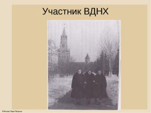 Участник ВДНХ © Фокина Лидия Петровна