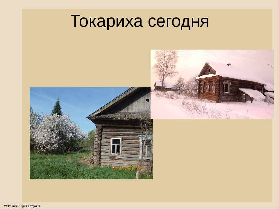 Токариха сегодня © Фокина Лидия Петровна