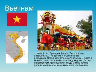 Вьетнам Новый год, Праздник Весны, Тет - все эти названия самого веселого вье