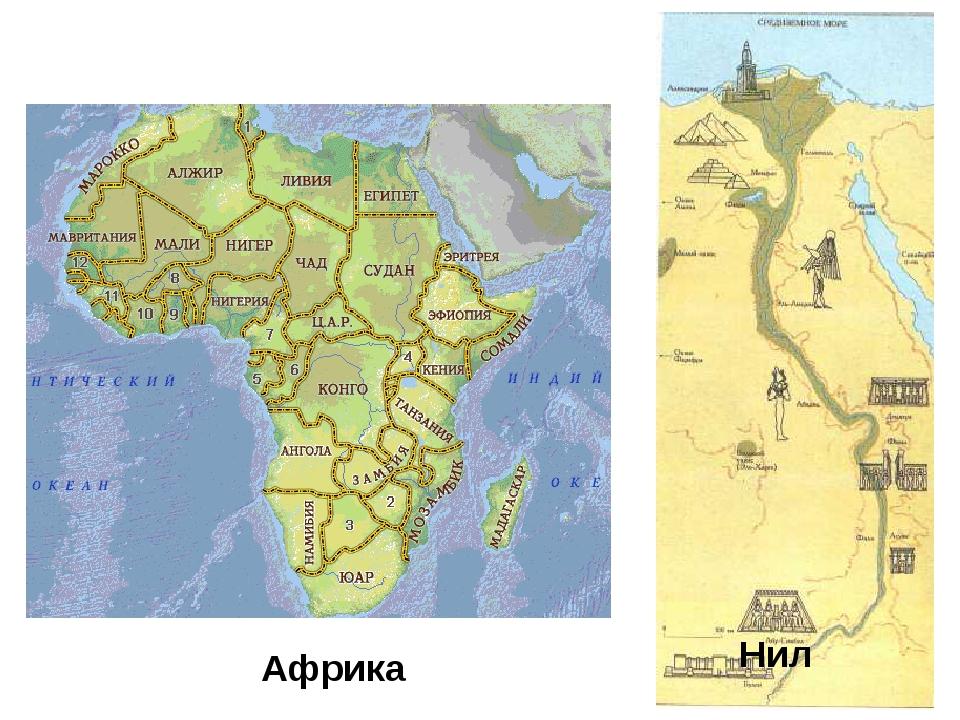 Нил Африка