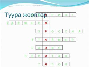 Туура жооптор 1БЕРИНГ  2ДЕЖНЕВ
