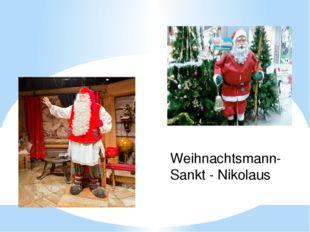 Weihnachtsmann- Sankt - Nikolaus
