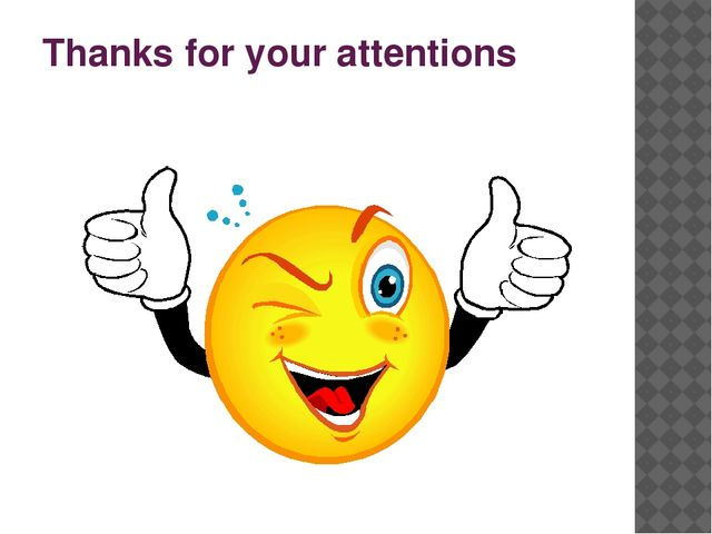 Thanks for your attentions
