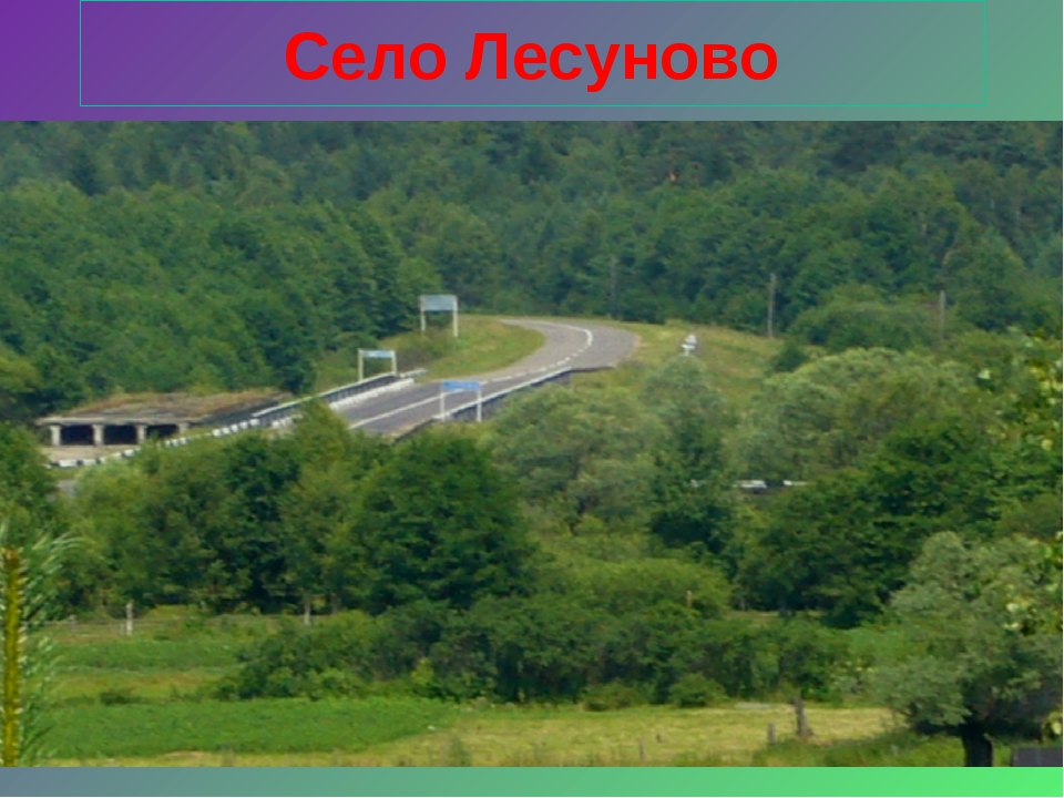 Село Лесуново