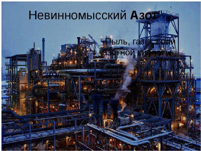 """Невинномысский Азот"""" Пыль, газы, соли азотной кислоты"""