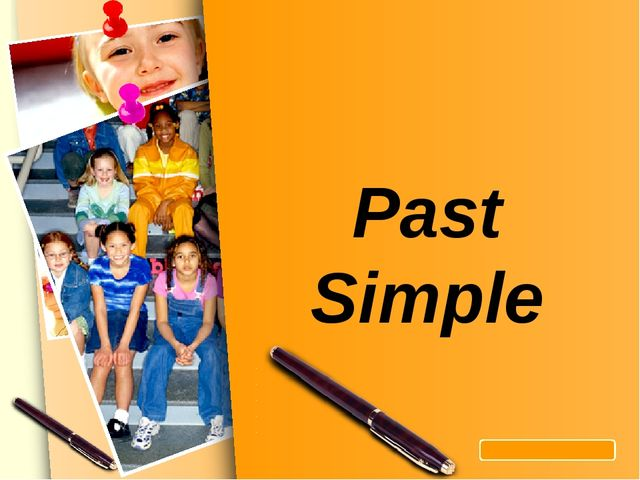 Past Simple L/O/G/O www.themegallery.com