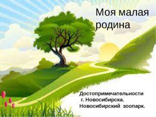 Моя малая родина Достопримечательности г. Новосибирска. Новосибирский зоопарк.