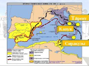 г. Зама 202 г. до н.э. Армия Ганнибала разбита. Условия мира: Карфаген перед