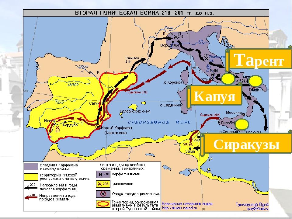 г. Зама 202 г. до н.э. Армия Ганнибала разбита. Условия мира: Карфаген перед...