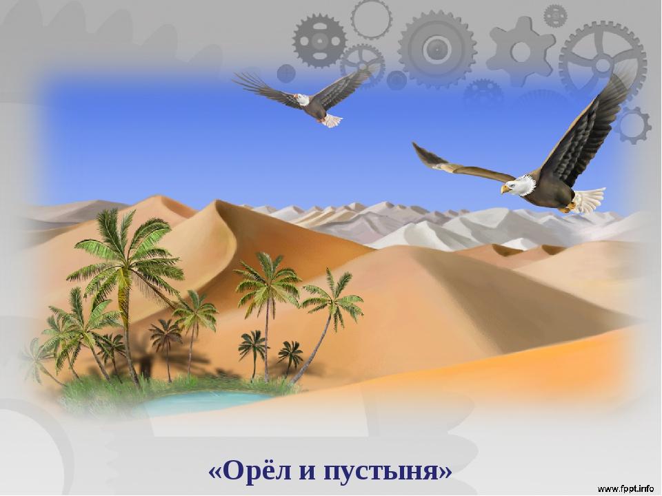 «Орёл и пустыня»