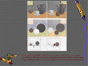Для создания равновесия в композиции рекомендуется использовать чередование с