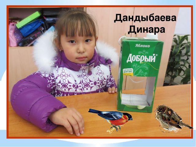 Дандыбаева Динара
