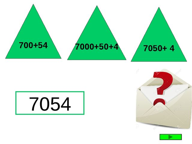 7054 700+54 7000+50+4 7050+ 4