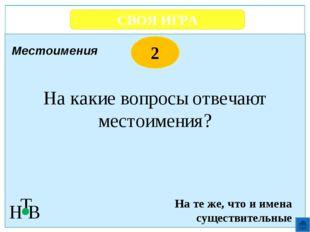 СВОЯ ИГРА Н Т В 2 Время Загадки