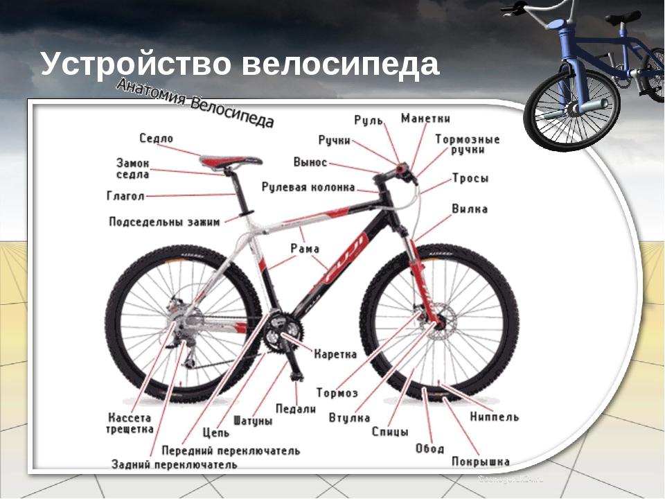 Как правильно распределить геометрию для велосипеда двухподвес