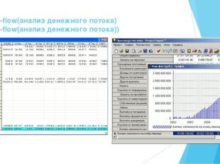 Cash-flow(анализ денежного потока) Cash-flow(анализ денежного потока))