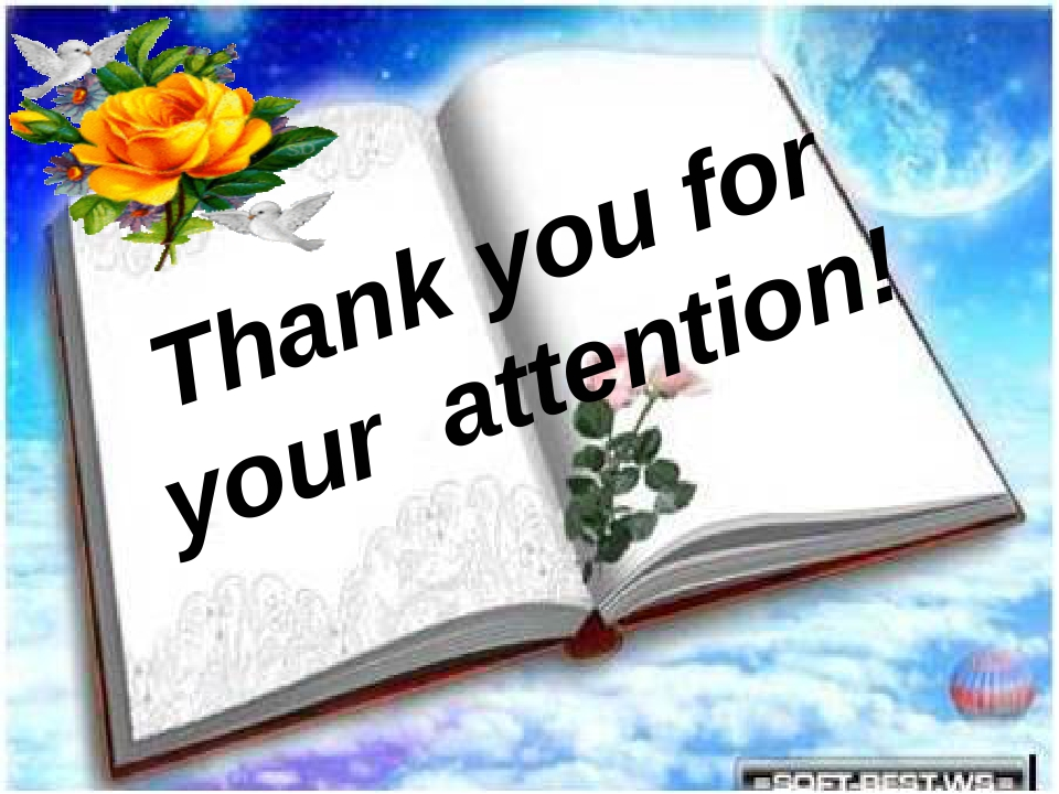 Good bye! Thank you for your attention! Good luck !!! Thank you for your atte...