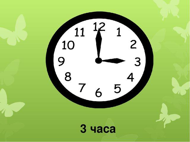 3 часа