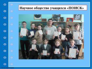 Научное общество учащихся «ПОИСК» © Фокина Лидия Петровна