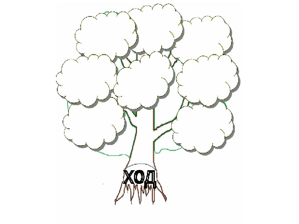 Дерево слов в картинках