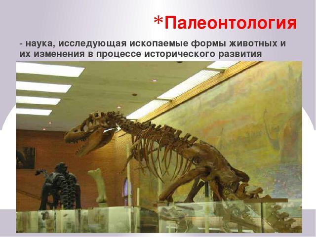 Систематика - наука о классификации животных