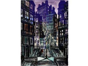 А в творчестве бельгийского художника Ф. Мазереля громады города-монстра пода