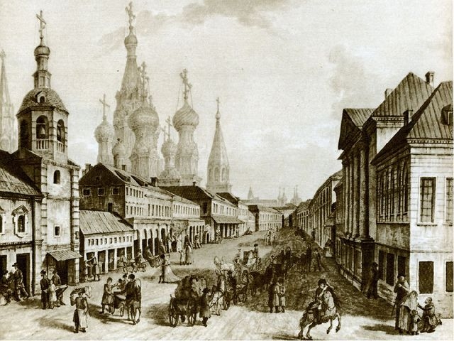 Он оставил нам яркий образ Москвы ещё до пожара 1812 г. А Петербург он изобра...