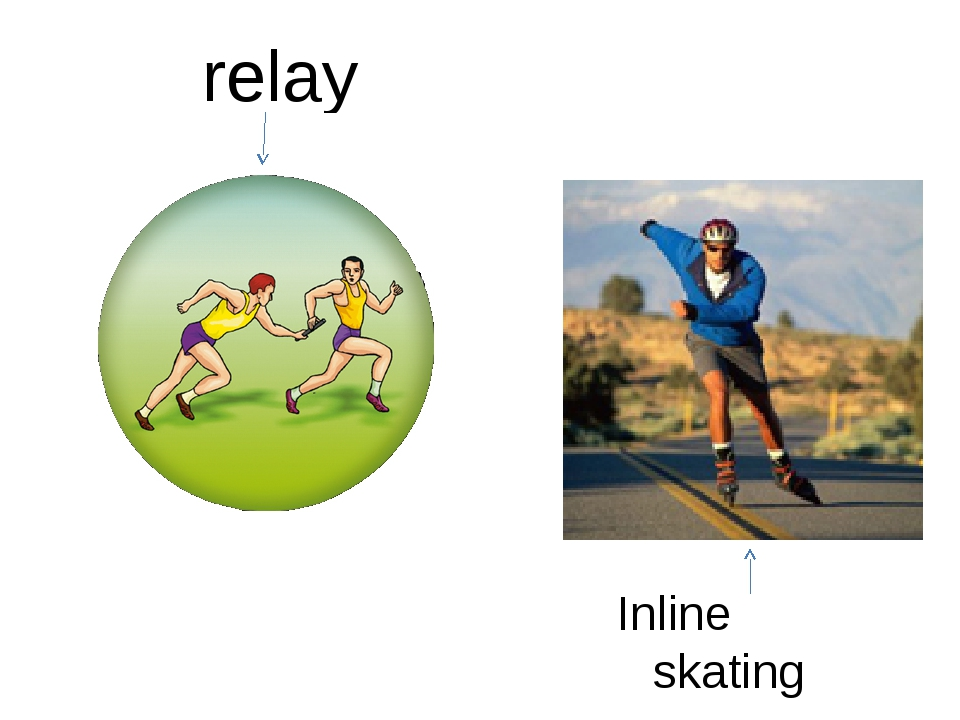 relay Inline skating
