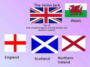 The UK (the United Kingdom of Great Britain and Northern Ireland) England Sco