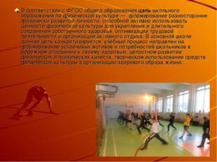 В соответствии с ФГОС общего образования цель школьного образования по физиче