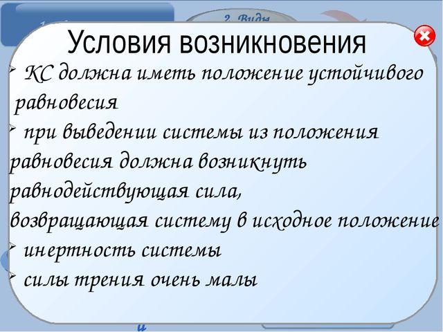 Основные элементы Амплитуда колебаний — …(стр. 165 учебника). Обозначается...