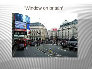 'Window on britain'