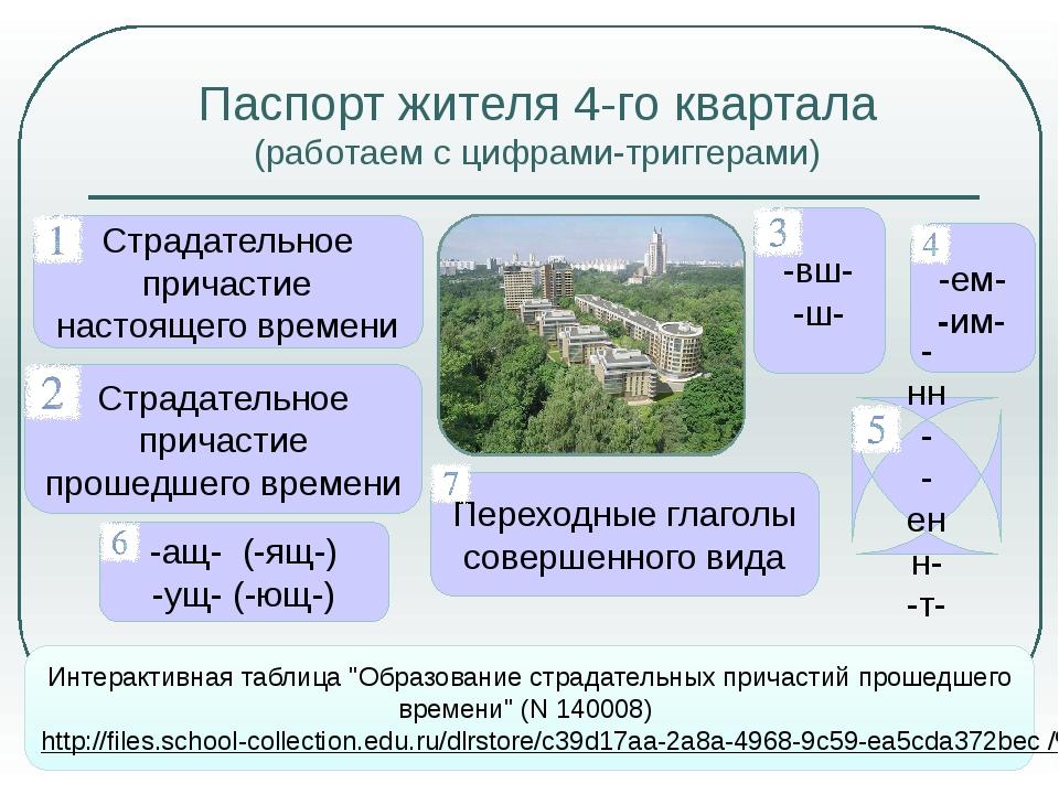 Ресурсы Интернета Интернет-источники значение слова «квартал» http://www.slov...