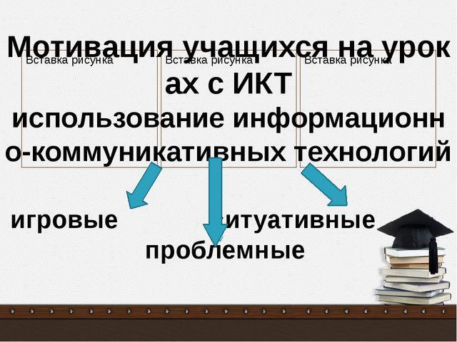 Мотивация учащихся на уроках с ИКТ использование информационно-коммуникативн...