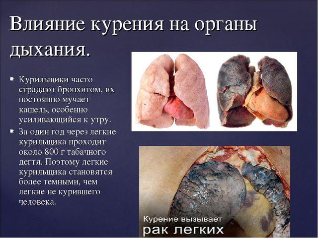 Курильщики часто страдают бронхитом, их постоянно мучает кашель, особенно уси...