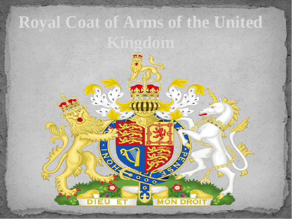 Royal Coat of Arms of the United Kingdom