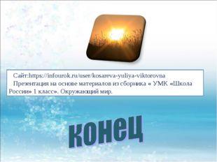 Сайт:https://infourok.ru/user/kosareva-yuliya-viktorovna Презентация на основ