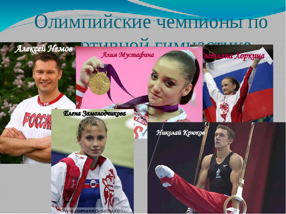 Олимпийские чемпионы по спортивной гимнастике