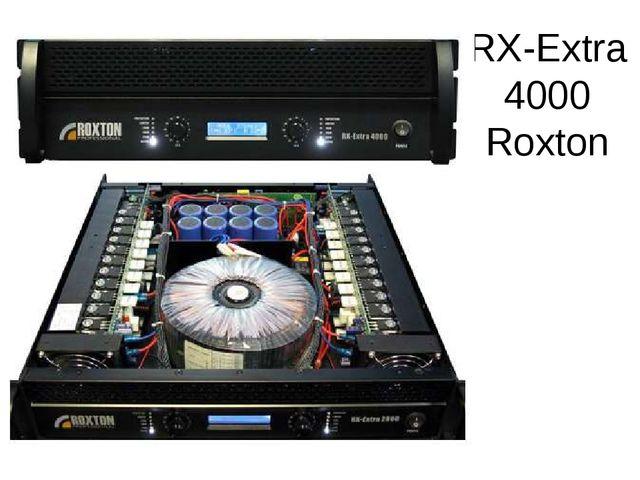 RX-Extra 4000 Roxton