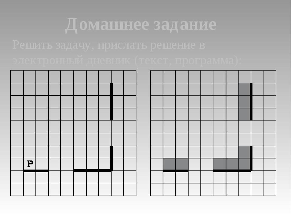 Домашнее задание Решить задачу, прислать решение в электронный дневник (текст...