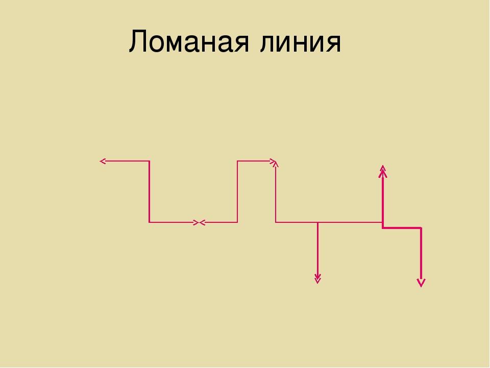 Ломаная линия
