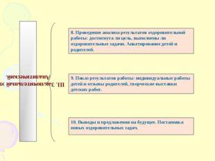 III. Заключительный этап. Аналитический. 8. Проведение анализа результатов оз