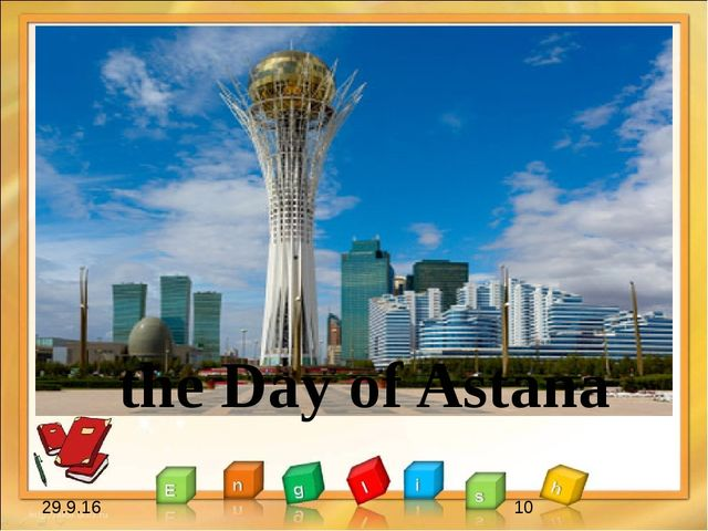 the Day of Astana