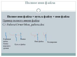 Тип, размер, дата и время Название параметра Значение параметра Имя Проба Fo
