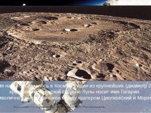 Его имя навсегда осталось в Космосе: один из крупнейших (диаметр 250 км) кра
