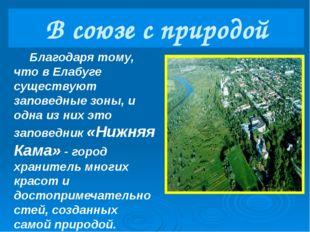 Памятник национальному парку «Нижняя Кама» «Святой Ключ»