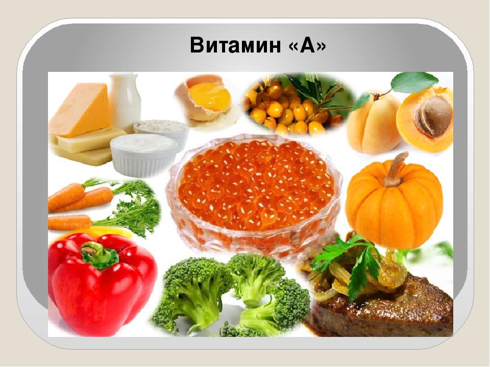 Витамин «А»